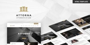 Attorna - Lawyer & Attorney HTML Template