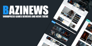 Bazinews -  WordPress Games Reviews & News Theme