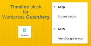 Bloc de montage pour éditeur de Wordpress Gutenberg