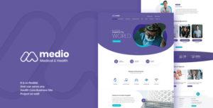 Medio - Medical Organization WordPress Theme