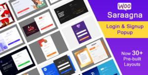 Saraagna | WooCommerce Login - Plugin Popup inscription