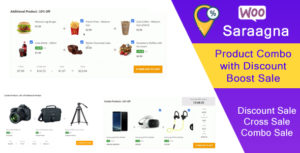 Saraagna | WooCommerce Product Combo with Discount Boost Sale Plugin (Cross Sell)