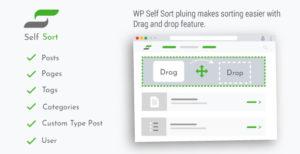 Tri par WordPress Self: Ordonnance post | pages | Catégories | Type de message personnalisé | L'utilisateur | Plugins