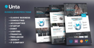 Unta | A MultiPurpose Business WordPress Theme