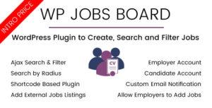 WP emplois Conseil - recherche d'Ajax et filtre WordPress Plugin