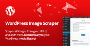 WordPress Image Scraper