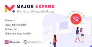 Agrandissement principal: extension de fonctionnalité visuelle étendue pour Elementor Page Builder