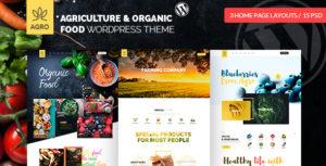 Agro - Organic Food - Farming - Livestock - Agriculture WordPress Theme