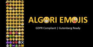 Algori Emojis for WordPress Gutenberg