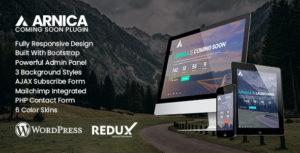 Arnica-Creative bientôt WordPress plugin