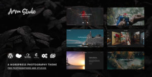 Arven Photography - WordPress Photography Theme for Photography