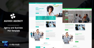 Auihoi - Business and Agency PSD Template