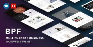 BPF - Responsive Multi-Purpose WordPress Theme