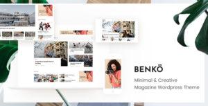 Benko - Creative Magazine WordPress Theme