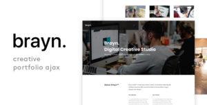Brayn - Creative Portfolio Agency Ajax Template