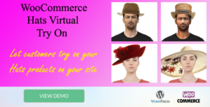 "Chapeaux Virtual try-on ""WooCommerce plugin"""