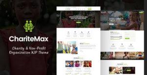 Charitemax - Fundraising WordPress Theme