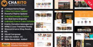 Charito - Nonprofit Charity WordPress