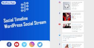 Chronologie sociale-WordPress social Stream