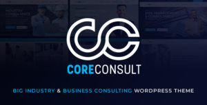 Coreconsult - Big Industry & Business Consulting WordPress Theme