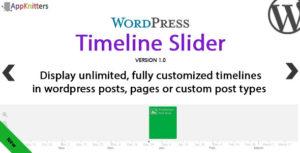 Curseur de chronologie WordPress