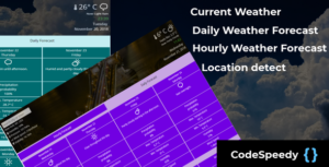 Dark Sky prévisions météo WordPress plugin