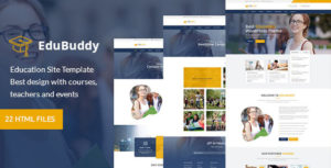 EduBuddy - Education Center Site Template