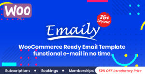 Emaily   WooCommerce Responsive Email Template + Subscriptions + Bookings + Memberships Compatible