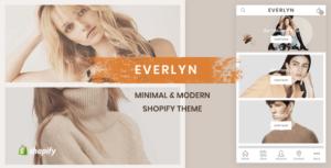 Evelyn - Mobile Friendly Minimal Shopify Theme