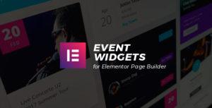 Event Widgets for Elementor Page Builder