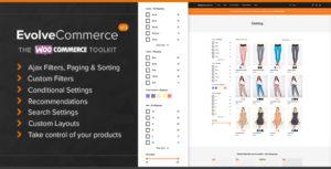 Evolve Commerce - The WooCommerce Toolkit