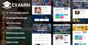 Examin - Education and LMS WP Theme