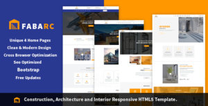 Fabarc | Construction Architecture & Interior Responsive HTML5 Template.