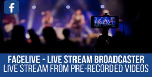 FaceLive - Live Stream Broadcaster Plugin for WordPress