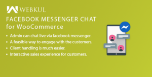 Facebook Messenger chat pour WooCommerce