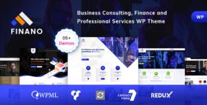 Finano - Consulting Finance WordPress