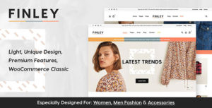 Finley - Fashion WooCommerce Theme