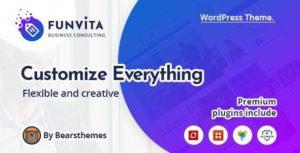 Funvita |  Business Consulting WordPress Theme