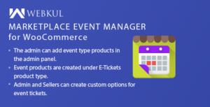 Gestionnaire d'événements Marketplace pour WooCommerce
