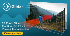 Glider 3D Photo Slider v1.6