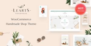 Handmade LeArts - Handmade Shop WooCommerce WordPress Theme