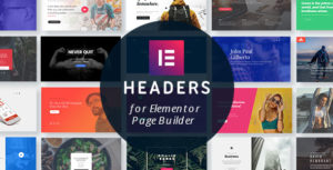 Headers for Elementor Page Builder