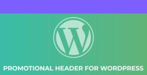 Hedero - Wordpress Promotional Header