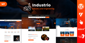 Industrio - Industrial Engineering WordPress