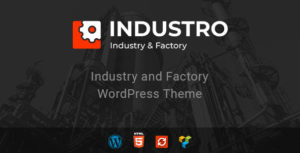 Industro - Industry & Factory WordPress Theme