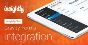 Intégration de formulaires - Insightly CRM - gravité