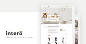 Intero – Interior Design Agency PSD Template