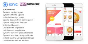 Ionic 4 app pour WooCommerce