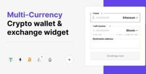 Les Crypto portefeuille multi-devises et échange des Widgets pour WordPress