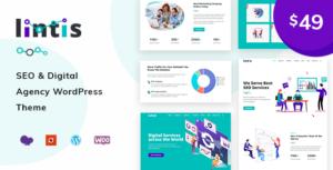Lintis- SEO and Digital Agency WordPress Theme